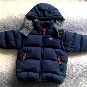 Osh Kosh 3 in 1 Puffer Jacket Sz 4